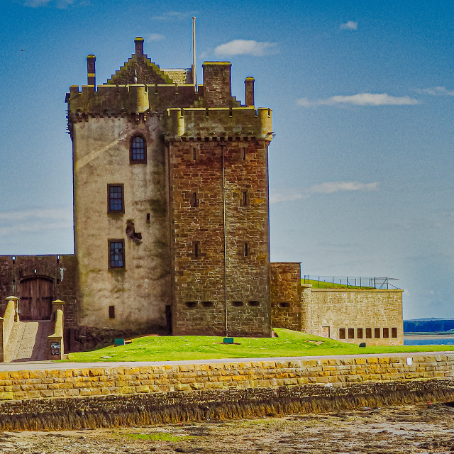 """""""Broughty Ferry Castle, Dundee"""" stock image"""