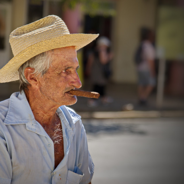 """""""Have a cigar 2"""" stock image"""