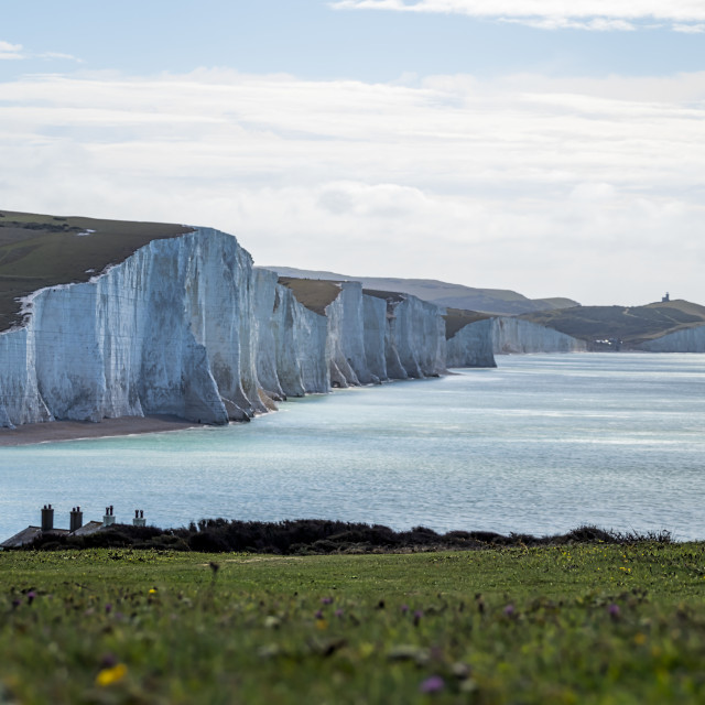 """Seven Sisters."" stock image"