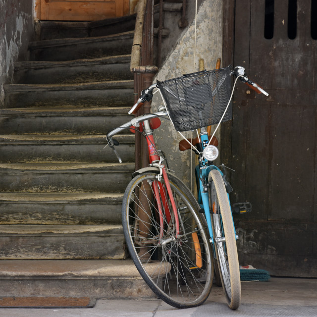 """""""Park your bike"""" stock image"""