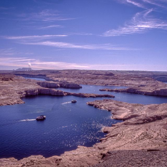 """Lake Powell"" stock image"