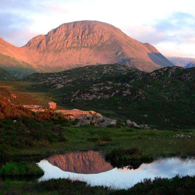 """""""Great Gable"""" stock image"""