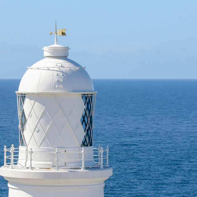 """Pendeen Lighthouse"" stock image"