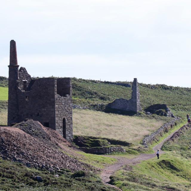 """Mining in Cornwall"" stock image"