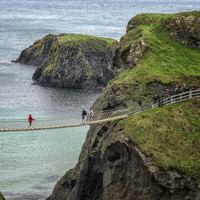 """""""Carrick-a-Rede"""" stock image"""