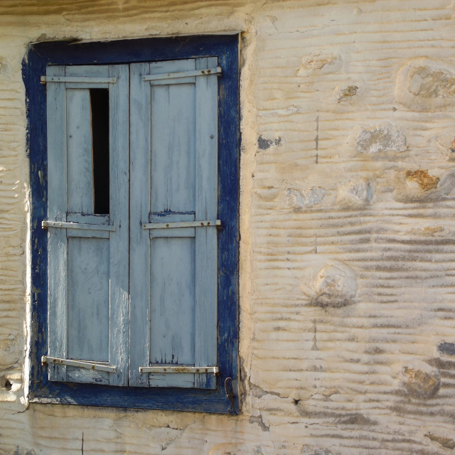 """""""Ancient Shutters"""" stock image"""