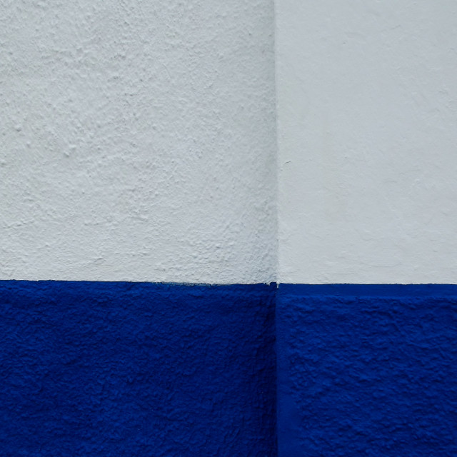 """""""Blue and White"""" stock image"""