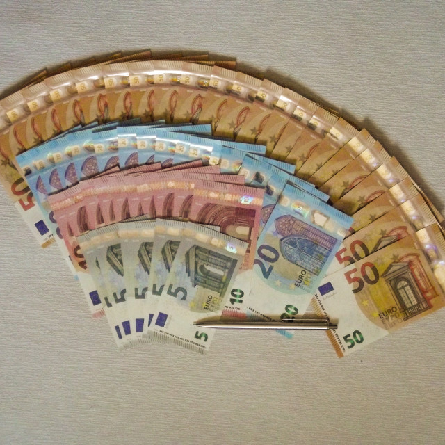 """Cash"" stock image"