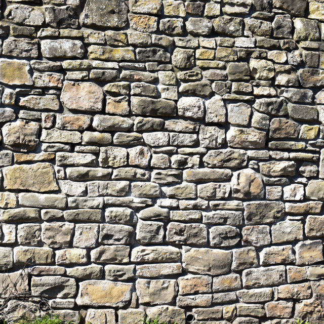 """Stone Wall"" stock image"