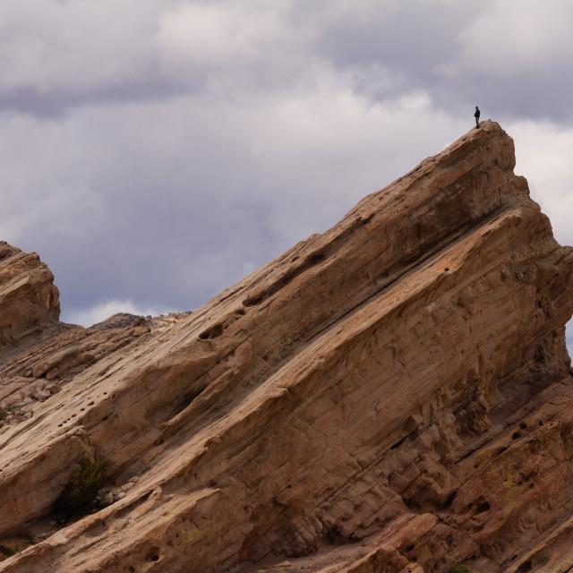 """A successful climb"" stock image"