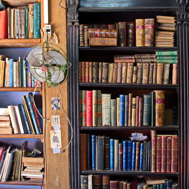 """""""Old books"""" stock image"""