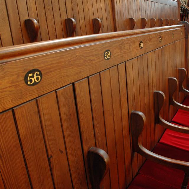 """""""Shaare Hayim Sephardi Synagogue, Manchester. 4"""" stock image"""