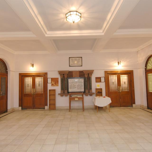 """""""Shaare Hayim Sephardi Synagogue, Manchester. 5"""" stock image"""