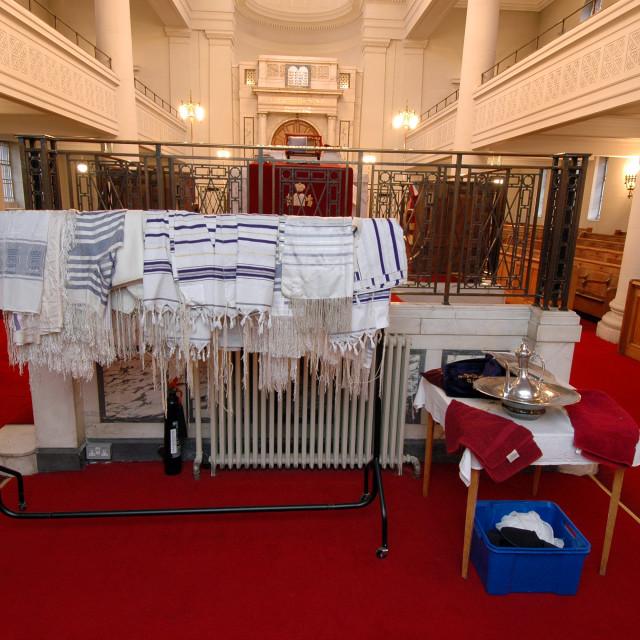"""""""Shaare Hayim Sephardi Synagogue, Manchester. 14"""" stock image"""