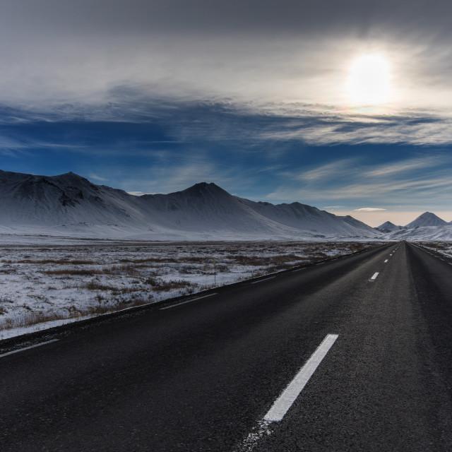 """Roadtrip Iceland"" stock image"