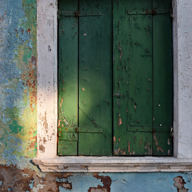 """""""Detail of an old wall in Venice, Italy 1"""" stock image"""