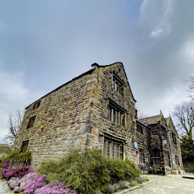 """""""Ilkley Manor House, Ilkley, Yorkshire, England."""" stock image"""