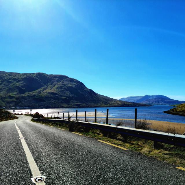 """""""Killary fjord"""" stock image"""