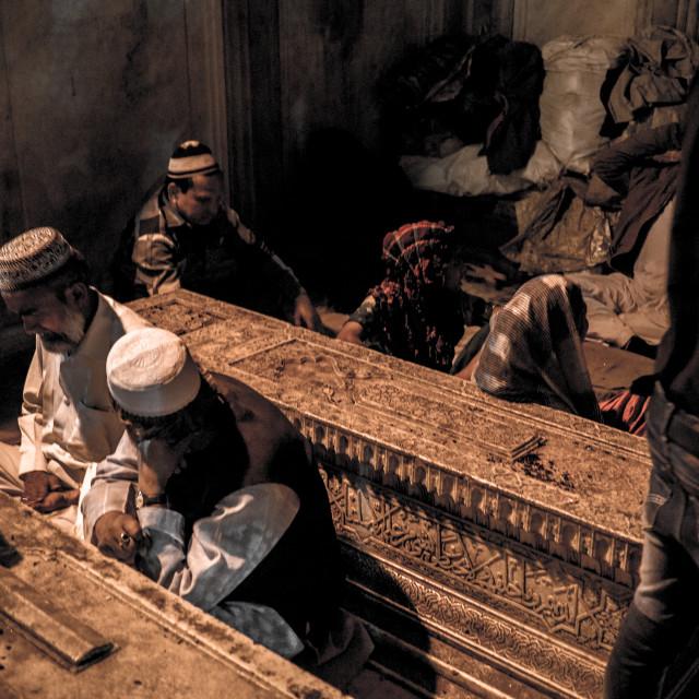 """Nizamuddin Dargah"" stock image"