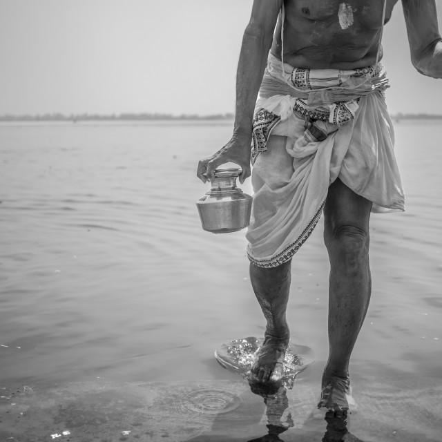 """""""Ganga jal"""" stock image"""