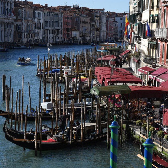 """""""Grand canal, Venice"""" stock image"""