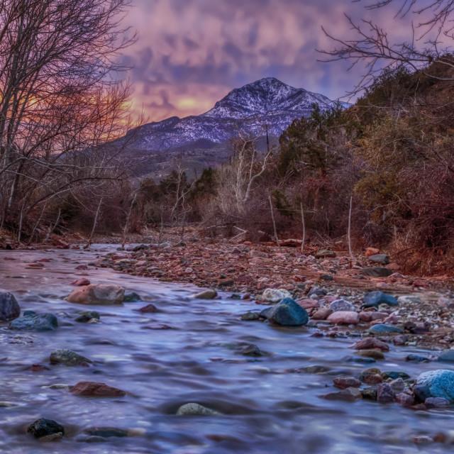 """vacation-travel-arizona-mazatzal wilderness area"" stock image"