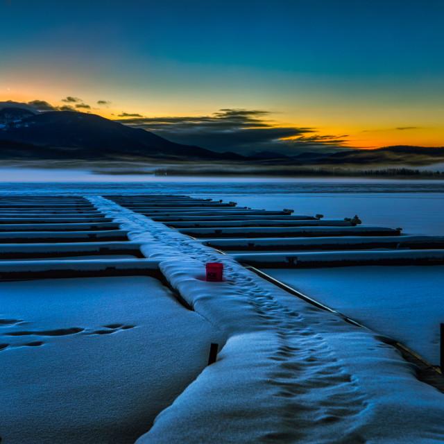 """travel-rocky mountain national park-sunrise-granby"" stock image"