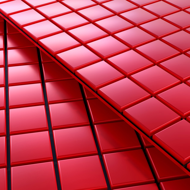 """""""3d rendering of Squares background"""" stock image"""