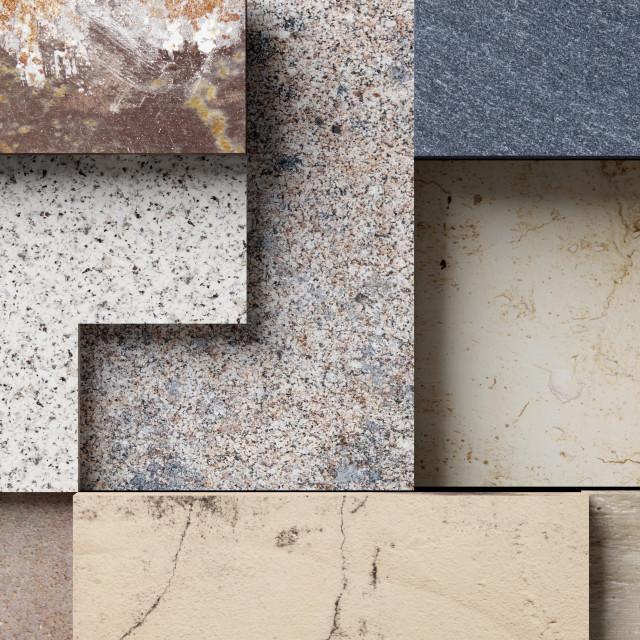"""3d stones mosaic"" stock image"