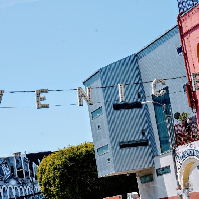 """""""Vibrant in Venice"""" stock image"""