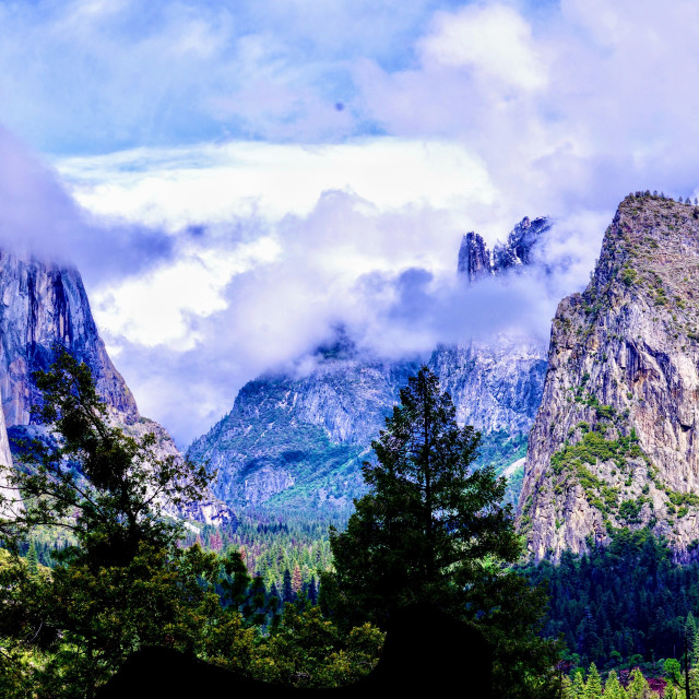 """""""Tunnel View"""" stock image"""