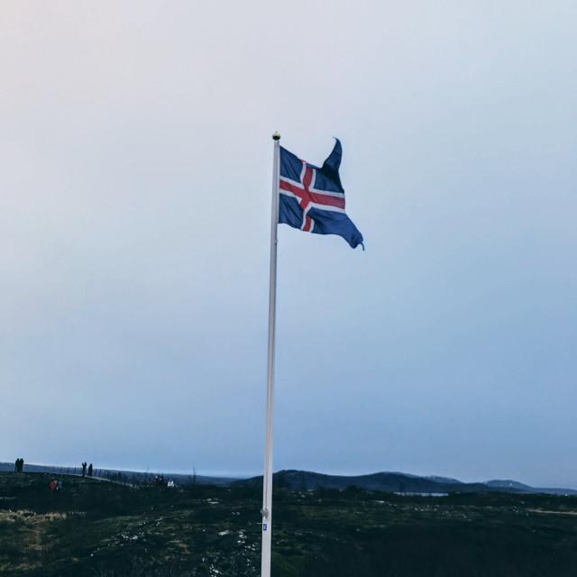 """""""Icelandic Flag"""" stock image"""