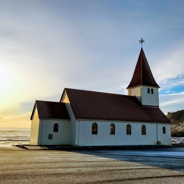 """Reyniskyrka Church"" stock image"