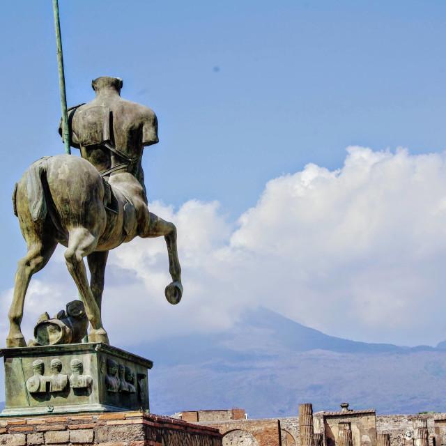 """""""Pompeii"""" stock image"""