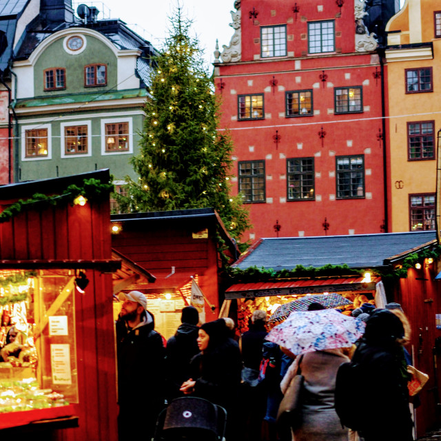 """Christmas Markets"" stock image"