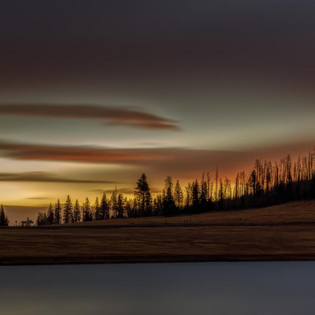 """""""travel-phototgraphy-sunrise-arizona"""" stock image"""