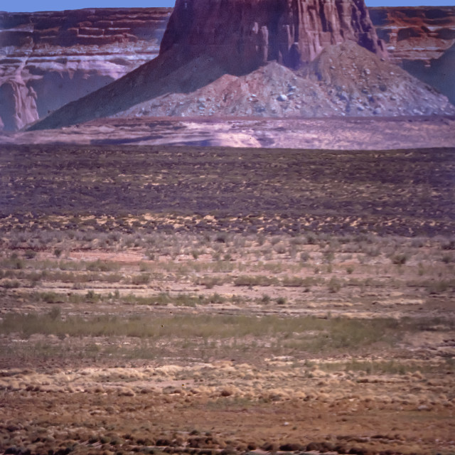 """""""Tower Butte"""" stock image"""