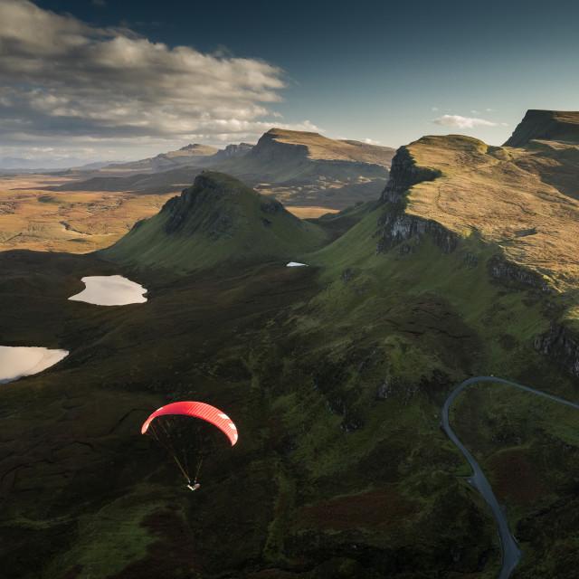 """Trotternish Dreaming - Isle of Skye, Scotland"" stock image"