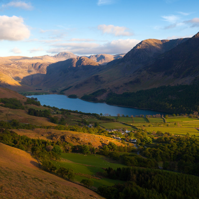 """""""Buttermere"""" stock image"""
