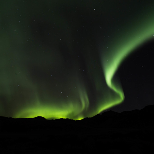 """""""Aurora's Glow"""" stock image"""