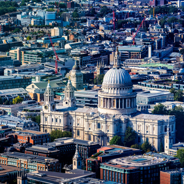 """""""St Paul's Cathedral, London UK."""" stock image"""