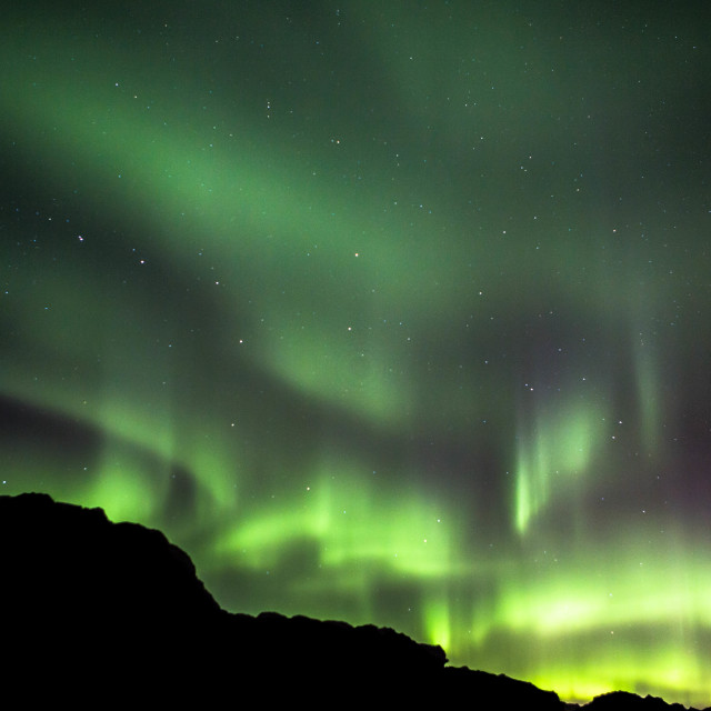 """""""Northern Lights and the Big Dipper"""" stock image"""