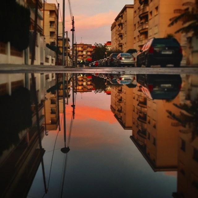 """""""Reflect beauty"""" stock image"""