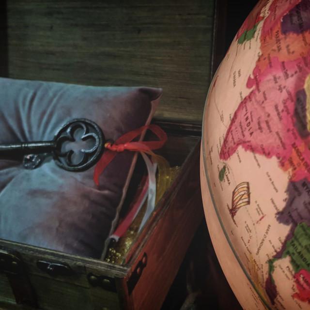 """Key to the World"" stock image"