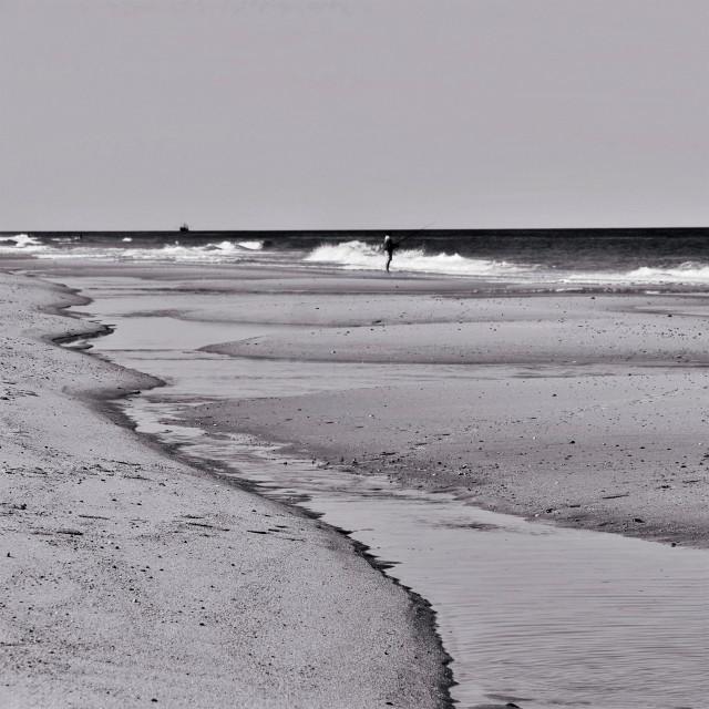 """""""Cape Cod Beach"""" stock image"""