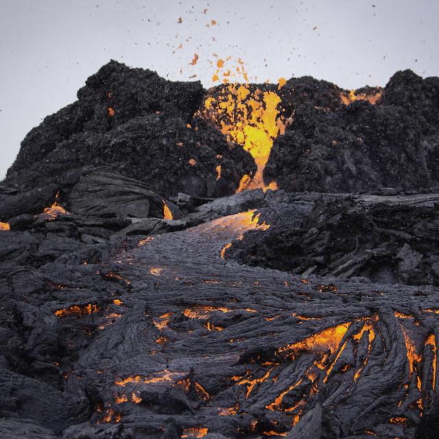 """""""Eruption II"""" stock image"""