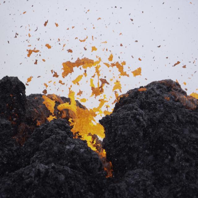 """""""Eruption 1"""" stock image"""