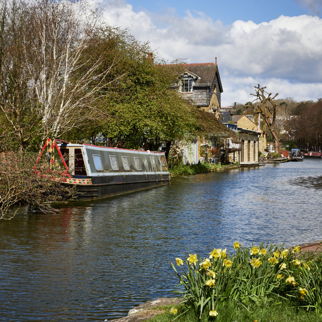 """UK - Herts - Grand Union Canal"" stock image"