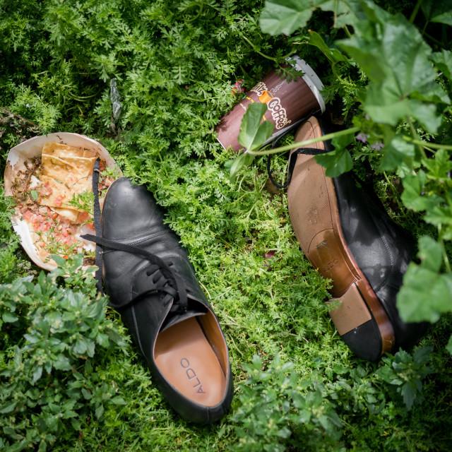 """""""Human footprint"""" stock image"""