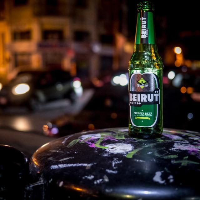 """Beirut Pilsner"" stock image"
